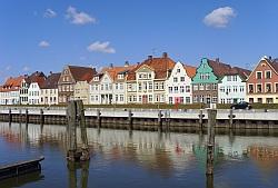 Glueckstadt 03 Hafenhaeuser
